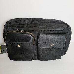 Tutilo Black Sling Crossbody Bag Travel Purse